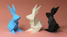 Mirice's Origamix_Rabbit translates the origami aesthetic to your printer. Make a few and place them around the house or around the neighborhood. Love Design, 3d Design, 3d Printing Materials, 3d Printer Designs, 3d Printing Service, Paper Crafts, Diy Crafts, 3d Prints, Origami Easy