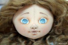 Коллекция кукольных фантазий: Ох, уж эти глазки! или Как я расписываю личики куклам.
