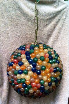 Atomic,Retro,FIBERGLASS, VINTAGE,Gumball Hanging Light Pendant by Got Retro, $185.00