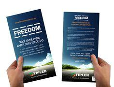 Campanha Freedom - flyer