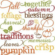 scrapbooking fall titles | Scrapbooking Titles, Journaling, & Quotes