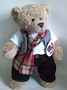 e132d4dab2c 7 Best Animal Print Teddy Bear Clothes fits Build a Bear Teddies ...
