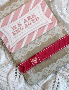 Engagement invites wording idea