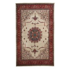 """Oushak Collection Oriental Rug, 6'7"""" x 10'9"""""""