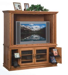Heritage Entertainment Center Amish Furniture Warehouse