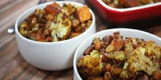 Roasted Sweet Potato Aloo Gobi