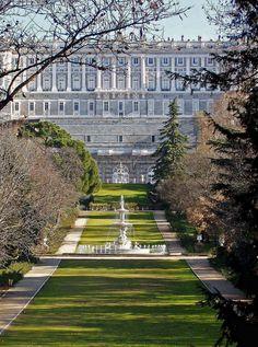 Palacio Real de Madrid, Jardines Campo del Moro. Foto de Almudena Marcos.