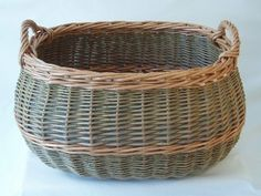Beautiful durable log baskets made in UK - Custom made service