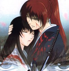 Samurai X aka Rurouni Kenshin.     -A part of me cannot stand Tomoe but another just feels for kenshin's loss and has to like her because she had a place in kenshin's heart.