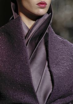 Haider Ackermann F/W 2012/13/any colour at any price looks more chic when rigourously head-to-toe