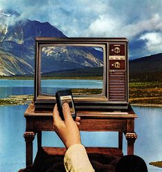 // Collages / #Surreal #Art #Collage by Joe Webb - screen - tv