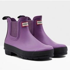 Hunter Booties Brand new! Super cute!  15% off of bundles! FEEL LIKE MAKING AN OFFER? Please do it through the make an offer feature as I will no longer negotiate prices in the comments section. PRICE IS FINAL ON ITEMS $15 or less unless bundled. Hunter Boots Shoes Ankle Boots & Booties