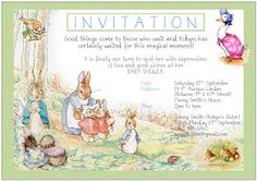 152 best Peter Rabbit - ideas for a party images on Pinterest ...