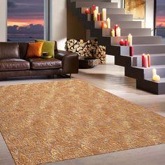 Teppich Wohnzimmer Carpet Modern Design MATRIX SOFIA KREIS RUG