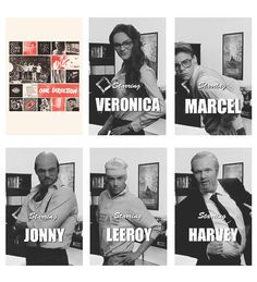 One Direction-Best Song Ever. Zayn as Veronica . Harry as Marcel. Louis as Jonny. Liam as Leeroy. Niall as Harvey.