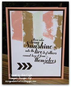 Stamp and Sew For Fun: Stampin' Up Cards