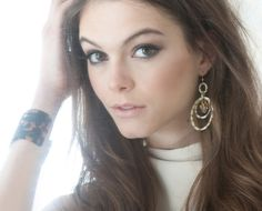Bellissima Oval Drop Earrings in Gator and Solid Cuff in Tokyo http://www.johannasimonds.com/collections/earrings/products/oval-drop-earrings-with-stone-cluster-gator-by-bellissima
