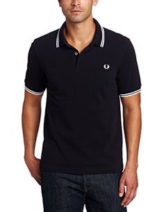 Fred Perry Men's Slim-Fit Twin-Tipped Polo Shirt, Navy/White/White, Medium Muscle Building Women, Slim Fit Polo Shirts, Twin Tips, Diets For Women, Fred Perry, Slim Man, Navy And White, White White, Polo Ralph Lauren