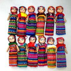 Worry Dolls 3 Inch Size - Two Dozen One Boy and one girl.   Guatemalan  | Dolls & Bears, Dolls, By Type | eBay!