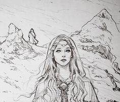 Middle earth traveler (21) Farewell Galadriel by Evankart