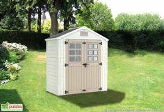 Abri de Jardin PVC Horizon 73 (210x105x240) Shed, Outdoor Structures, Gardens, Barns, Sheds