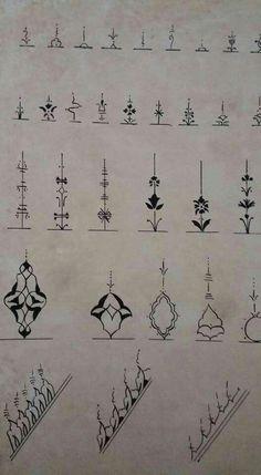 Islamic Art Pattern, Mandala Pattern, Pattern Art, Motif Simple, Islamic Tiles, Middle Eastern Art, Glass Painting Designs, Illumination Art, Geometric Tattoo Arm