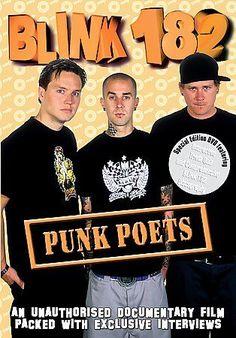 Blink 182 - Punk Poets (DVD, 2006)
