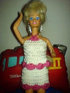 Crochet Barbie outfit pattern