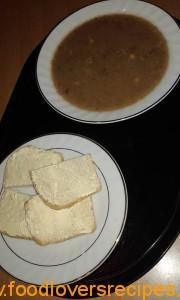 Mielie en bone sop South African Recipes, Bones, Couture, Cooking, Breakfast, Food, Kitchen, Morning Coffee, Essen