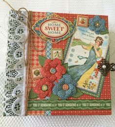 """TPHH Graphic 45 """"Home Sweet Home"""" Large Album By Cheryl K."""