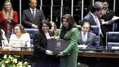 Anna Maria Rattes, presidente do Conselho Municipal de Defesa dos Direitos da Mulher (Comdim) e coordenadora do Gabinete da Cidadania.