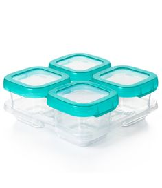 From OXO, these baby blocks feature: To make meal and snack time easier for you, we created our six-ounce OXO Tot Baby Blocks.They've got measurement markings on the side (so you know how much you're doling out), have easy-to-open airtight and leakproof lids and they can go anywhere (we're talking parks, restaurants, even the fridge, freezer, microwave and dishwasher) Storage Sets, Diy Storage, Storage Containers, Rose Gold Pen, Diy Halloween Costumes For Kids, Plastic Items, Girl Bedroom Designs, Tupperware, Diy For Kids