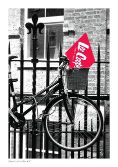 #archives #vintage #mode #oldschool #leecooper #denim #bike #bricklane
