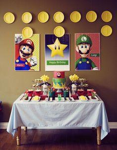 idei super mario bros top 20 Ideas About Mario Birthday Party Mario Brothers, Mario Bros Y Luigi, Mario Bros., Mario Kart, Mario Bros Cake, Super Mario Birthday, Mario Birthday Party, Super Mario Party, Cake Birthday