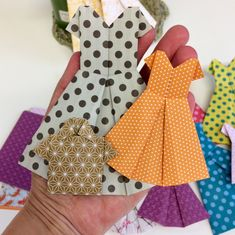 Origami fun! Wrapping, Origami, Wraps, Summer Dresses, Photo And Video, Paper, Fun, Instagram, Fashion