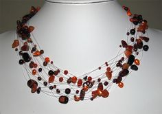 One of my handmade creations Beaded Necklace, Necklaces, Handmade Jewelry, Handcrafted Jewelry, Beaded Collar, Chain, Beaded Necklaces, Pearl Necklace, Wedding Necklaces