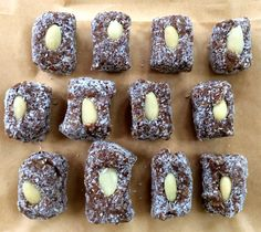SIMPLY 123 ALLERGY FREE: Coconut Date Squares; GF/DF, Paleo