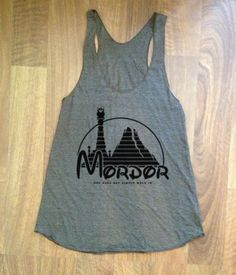 Lord of the Rings Inspired Womens Tank top ECO by Tomorrowsunknown, $20.00