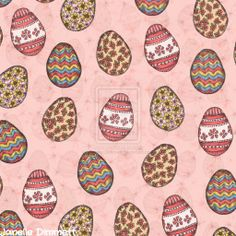 Decorated Egg Pattern by Janelle-Dimmett.deviantart.com on @deviantART