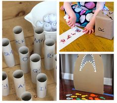 These alphabet games for preschool and kindergarten make learning the alphabet a playful and engaging experience. Your kids will love these alphabet games! Alphabet Games, Teaching The Alphabet, Teach English To Kids, Teaching English, Preschool Games, Preschool Kindergarten, English Abc, Game 4, Summer Fun