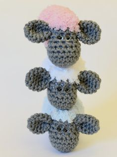 Crochet Sheep Toy  Crochet Animals  Plush Sheep by TheSimplyHooked