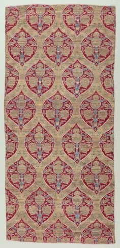 Ottoman Silk and Gold Brocade Fragments.  1600-1650.  (Cleveland Museum of Art)