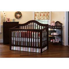 Child of Mine by Carter's - Jamestown 4-in-1 Convertible Crib, Chestnut