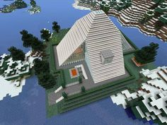 Minecraft gaming xbox xbox360 house home creative mode mojang barn modern house home bungalow