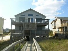 VRBO.com #393440 - Oceanfront with Dune Top Deck Offers Military Discounts - the Sea and Me