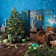 7 Christmas Interiors From Different Countries | Shelterness