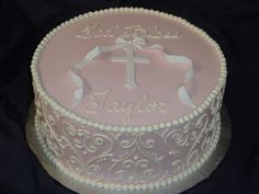 damask christening | Flickr - Photo Sharing!