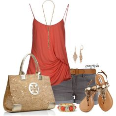 """""""Summertime, summertime happiness"""" by exxpress on Polyvore"""