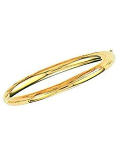 Solid Yellow Bangle Bracelet Inches. *** To view further for this item, visit the image link. (This is an affiliate link) #Bracelets