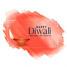 Happy diwali watercolor festival background Happy Diwali Poster, Happy Diwali Cards, Happy Diwali Pictures, Happy Diwali Wishes Images, Diwali Greeting Cards, Diwali Greetings, Feliz Diwali, Diwali Vector, Diwali Wishes Messages